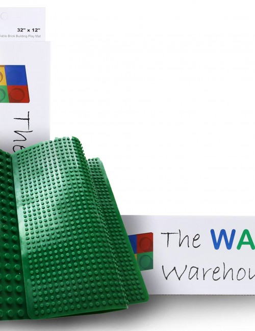 Large Green Compatible Baseplate The Wacky Warehouse