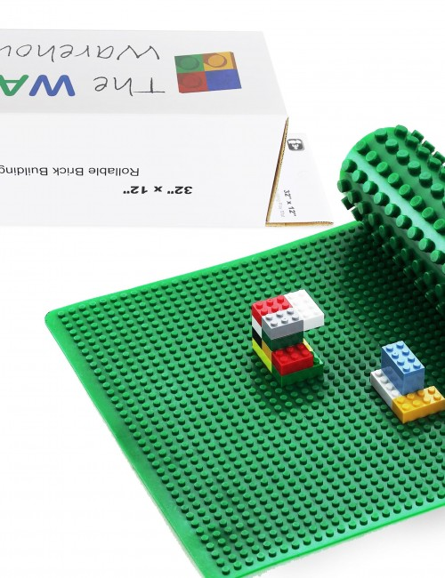 green lego baseplate rubber