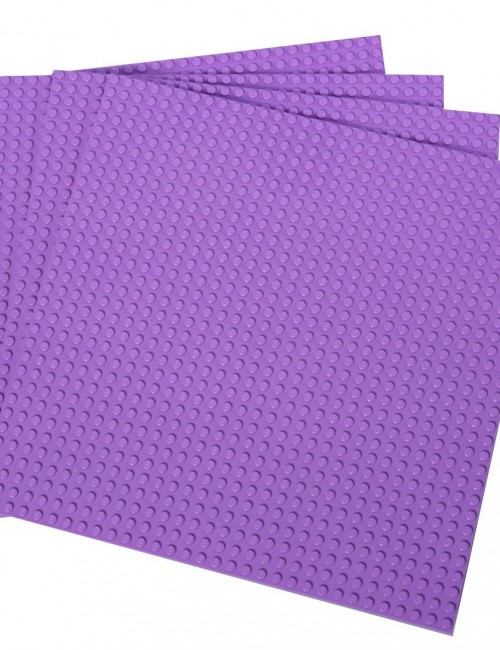 purple baseplates