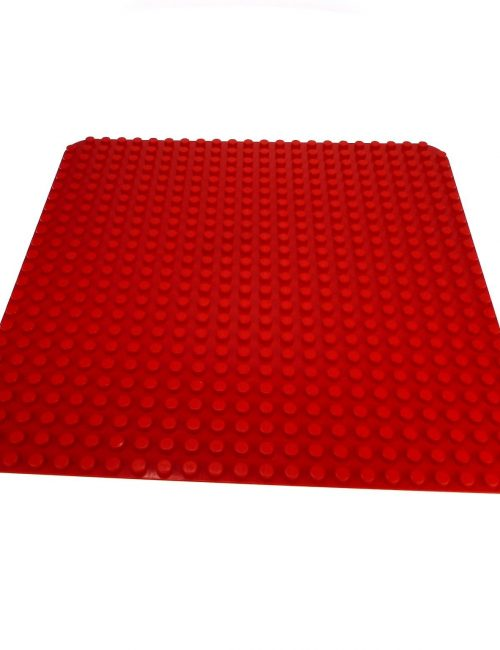 red duplo base plate